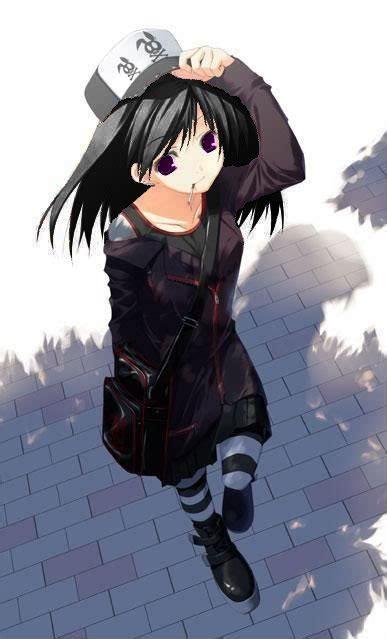 Anime Tomboy Wallpaper - WallpaperSafari - hoodie tomboy anime girl with black hair and brown eyes