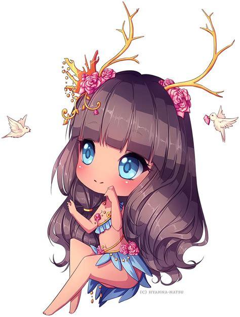 C:+Meara+by+Hyanna-Natsu.deviantart.com+on+@DeviantArt ... - brown hair green eyes brown hair flower crown cute anime girl