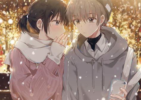 Black eyes black hair blush brown eyes brown hair dangmill ... - anime girl brown hair brown eyes black hoodie