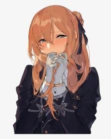 Anime Girl Brown Hair Pfp - cute anime girl with short brown hair pfp