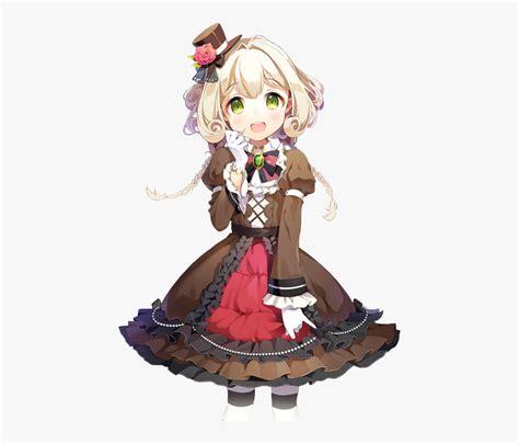 Cute Anime Christmas Girl With Brown Hair And Silver ... - brown hair flower crown cat brown eyes brown hair flower crown cat cute anime girl
