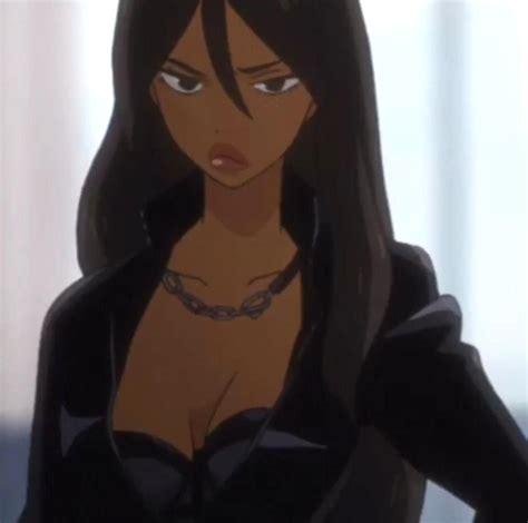 Pin on Black Beauty - curly hair aesthetic anime girl pfp brown hair