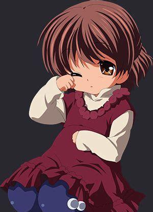 17 best Anime images on Pinterest  Anime girls, Anime ... - brown hair cute anime girl child