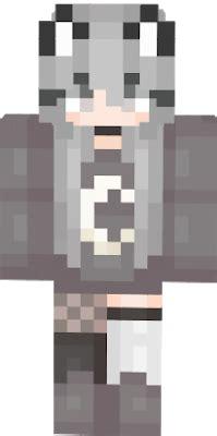 #grey  Nova Skin - brown hair flower crown cat brown eyes brown hair flower crown cat cute anime girl