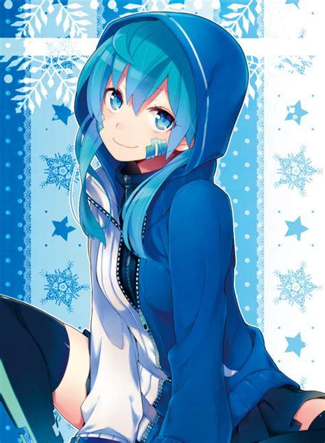 Anime Chat Thread - Page 4379 - cute anime girl brown hair blue eyes hoodie