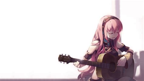 32++ Anime Girl Playing Guitar Wallpaper - Sachi Wallpaper - girl playing guitar brown hair beautiful cute anime girl