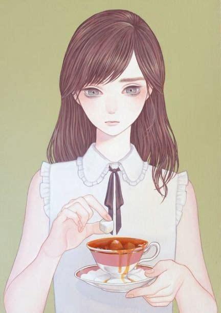 Hair Brown Grey Eyes Anime 37 Ideas #hair  Anime art girl - anime girl drawing colored brown hair