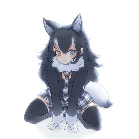 Pin on Silver (wolf) - brown hair cute anime girl with wolf ears