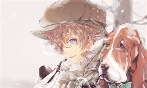 Dogs,blue eyes,glasses,brunettes,short - Google Search ... - aesthetic anime girl with brown hair and blue eyes