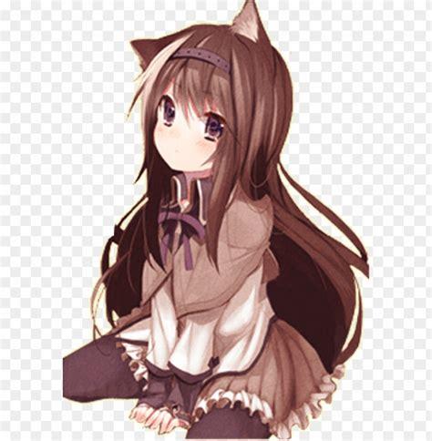 Brown Hair Aesthetic Brown Hair Christmas Anime Girl - aesthetic brown hair beautiful cute anime girl