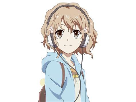 Rogue  Virtual Space Amino - brown hair short bangs brown hair short cute anime girl