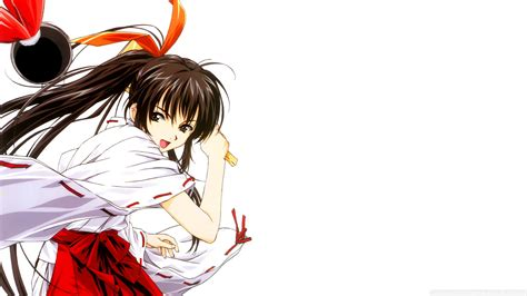 Download Anime Girl With Long Brown Hair Wallpaper ... - brown anime girl