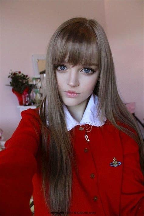 Pin on REAL Barbie Dolls - light brown hair color anime girl