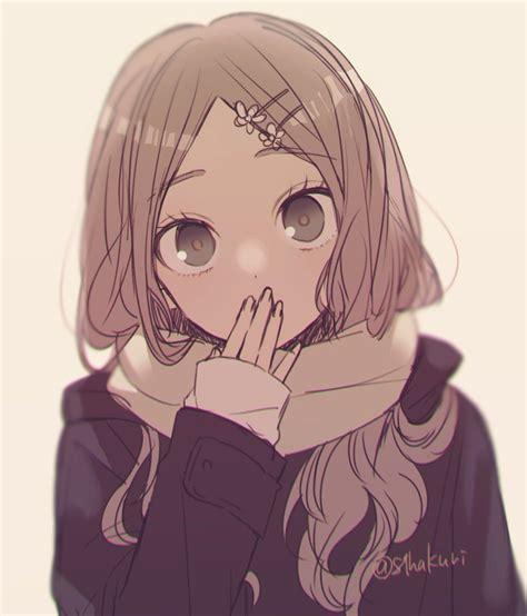 Elegant Aesthetic Cute Anime Pfp - india's wallpaper - cute brown anime girl pfp