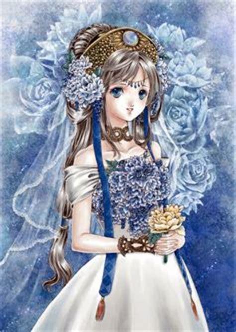 Anime & Manga:Shiitake - brown hair princess beautiful brown hair princess cute anime girl