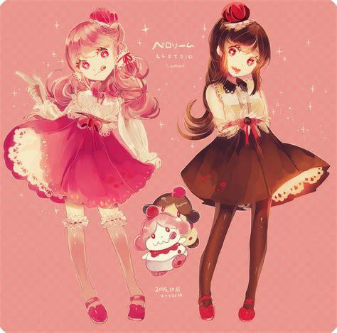 Pinterest - brown hair cute anime girl child