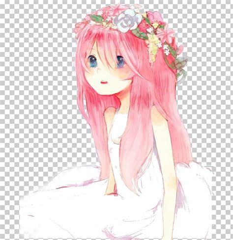 Aesthetic Anime Girl With Brown Hair And Bangs  aesthetic ... - brown hair pretty aesthetic anime girl
