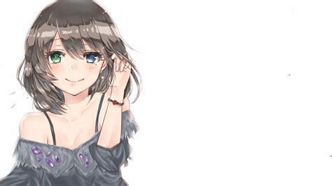 Pin by Oh Wikis on Desing and Oc  Long brown ... - shy anime girl with short brown hair and brown eyes