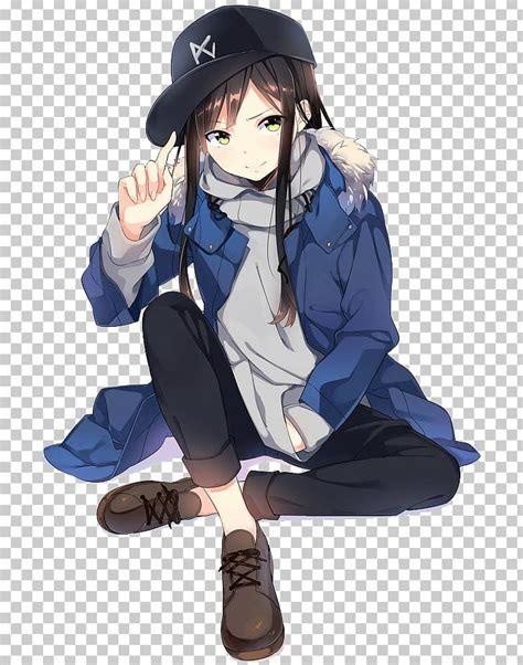 32+ Tomboy Anime Wallpaper Girl With Headphones - Baka ... - hoodie tomboy anime girl with black hair and brown eyes