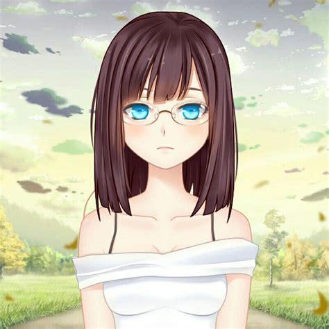Pin on Anime - brown hair short brown eyes brown hair short cute anime girl