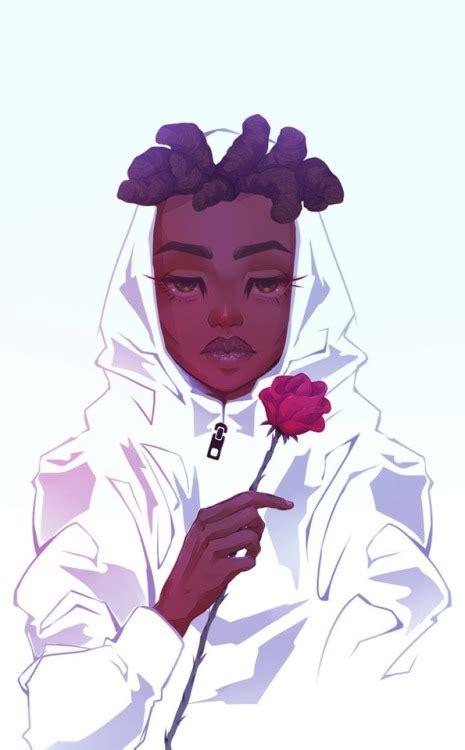 Anime dark skin  Tumblr - brown skin anime girl aesthetic