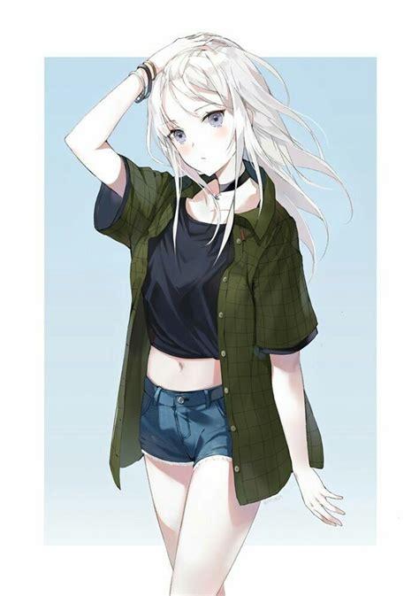 Brown Hair Kawaii Cute Anime Girl Tomboy - Anime Wallpaper HD - brown hair tomboy brown hair short cute anime girl