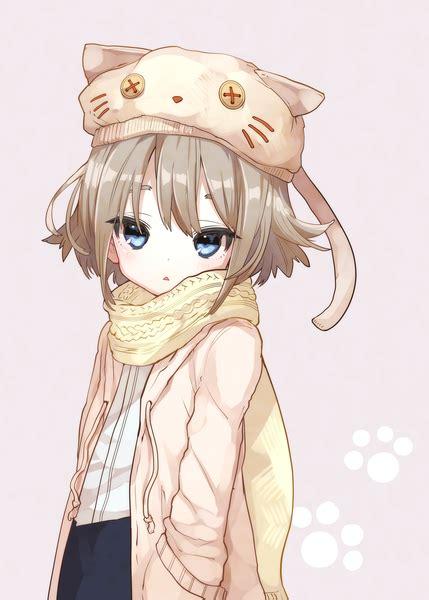 Anime picture original 778-go single tall image blush ... - brown hair cute anime girl child