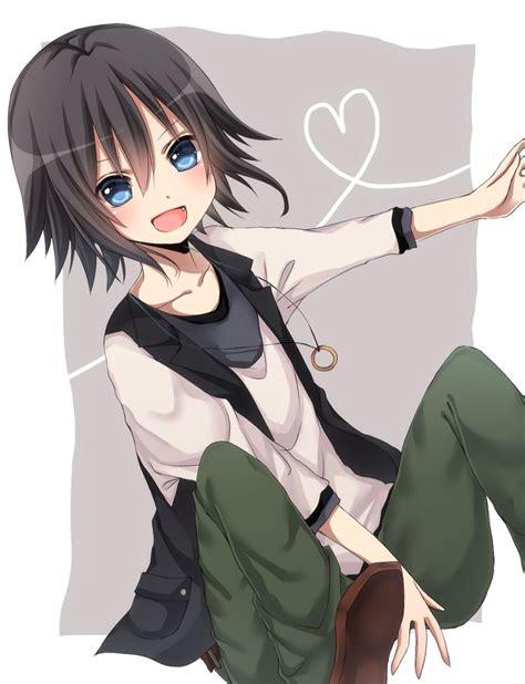 Tomboy Anime Girl Black Hair Brown Eyes - Free Download ... - long hair tomboy anime girl with black hair and brown eyes