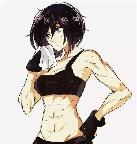 Tomboy Anime Girls With Black Hair And Brown Eyes - long hair tomboy anime girl with black hair and brown eyes