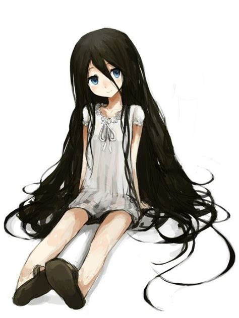 17 Best images about ART Manga and Anime on Pinterest ... - anime girl with black hair and brown eyes kid