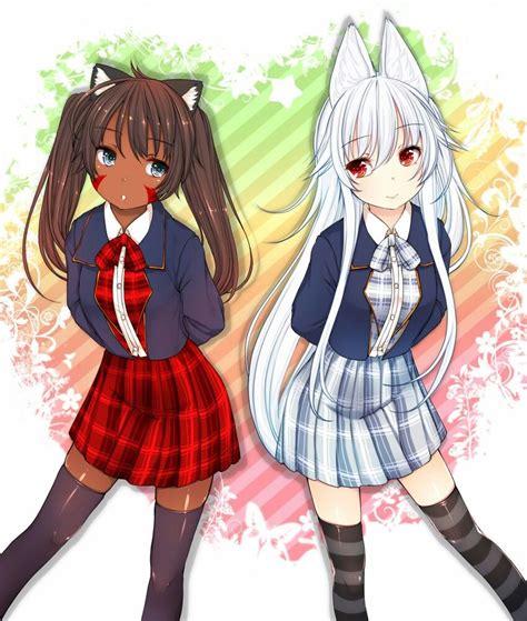 Pin on Black anime girl - anime girl with black hair and light brown skin