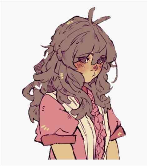 #muh #angrygirl #girl #sadgirl #cutegirl #kawaii #anime ... - brown hair pretty aesthetic anime girl