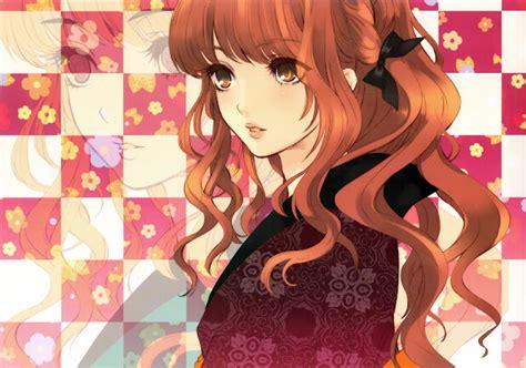 Luh Natsumi : Nunca desista de seus sonhos... - brown hair beautiful anime girl face