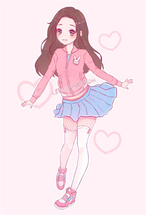 Free Printable Cute Pastel Aesthetic Girl - india's wallpaper - brown hair pretty aesthetic anime girl