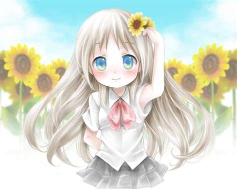 Noumi Kudryavka - Little Busters! - Image #1352488 ... - brown hair cute anime girl child