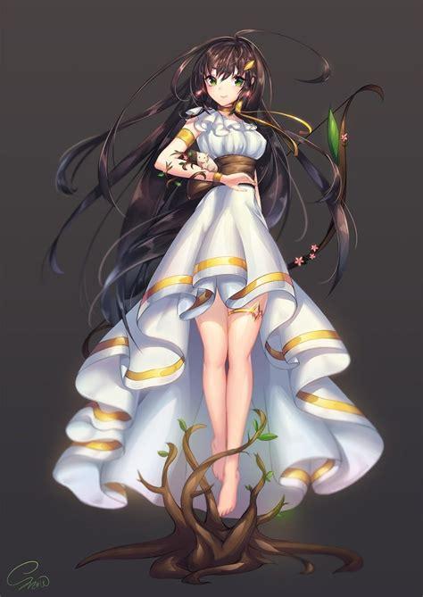 Life Story Of Ava Skymoon [Skymoon Ancestors Arc] Chapter ... - long hair brown hair green eyes long hair brown hair cute anime girl