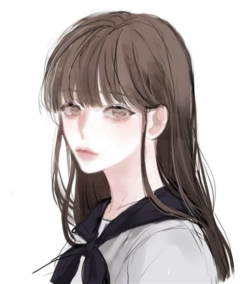 Tweets de Media par 보이차/BOYCHA (@BOYCHAAA)  Twitter ... - blue eyes brown hair anime girl pfp