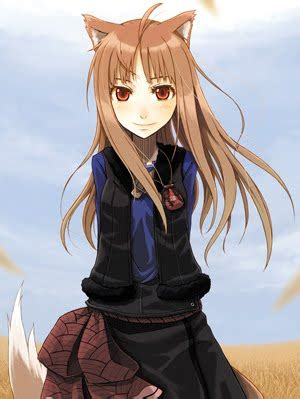 Vanya Mania: First Blog! First Post! Hagime Mashite! - brown hair cute anime girl with wolf ears