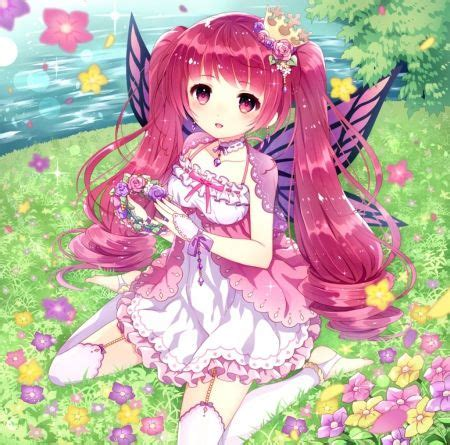 Pin auf Anime in my life - brown hair princess beautiful brown hair princess cute anime girl