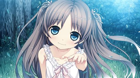 Anime girl with brown hair and blue eyes - Google Search ... - cute anime girl light brown hair blue eyes