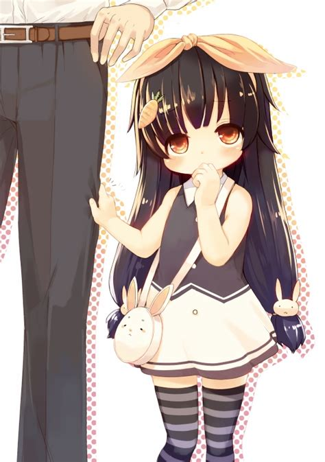 Kishibe Image #1044807 - Zerochan Anime Image Board - tan anime girl with black hair and brown eyes